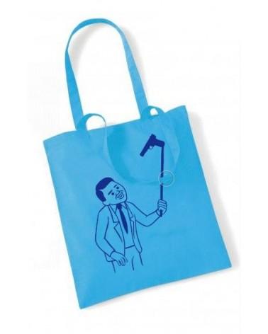 Blue Selfie Tote Bag, Joan Cornellà