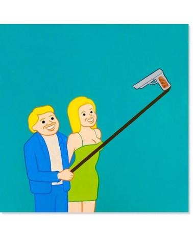 Poster Selfie by Joan Cornellà